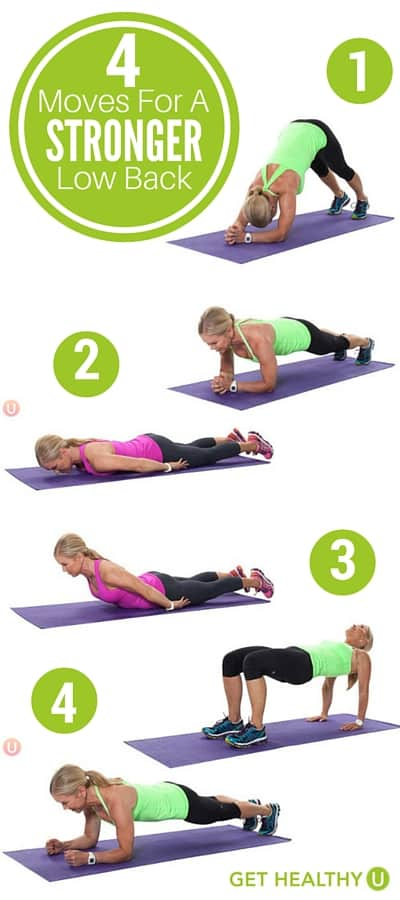 4 Moves For A Stronger Low Back Get Healthy U