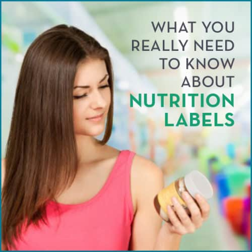 Learn what to look for on a nutrition label to make sure the food you're buying is natural and healthy.