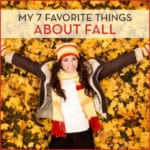 My 7 Favorite Things About Fall