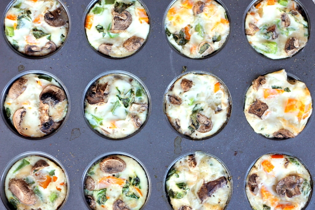 cheesy egg white muffin tin recipe