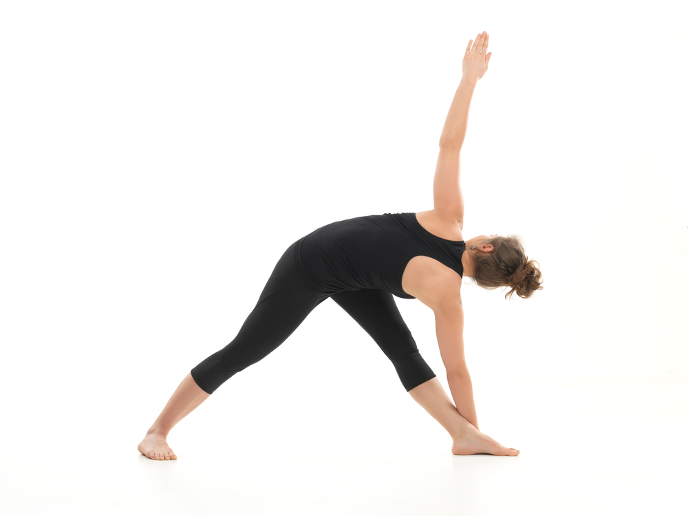 Twist Triangle Yoga Pose