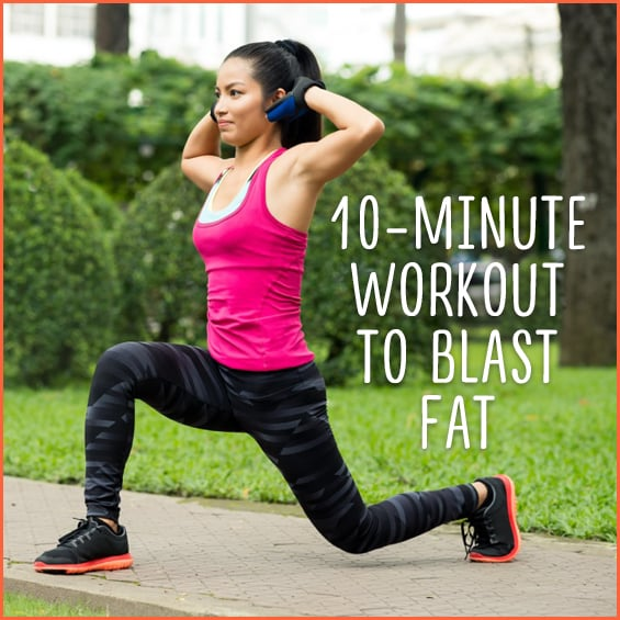 Lose weight and blast fat with this quick, 10-minute workout!