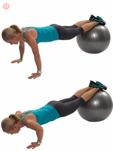 How To Do Stability Ball Push-Up