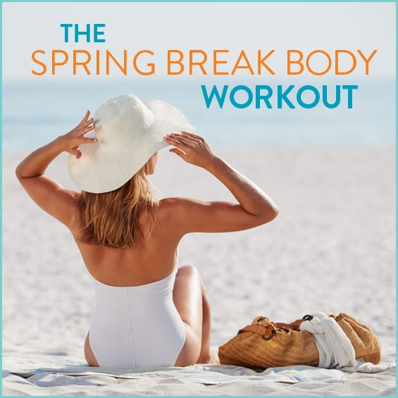 Get your butt in gear for spring break with this toning workout!