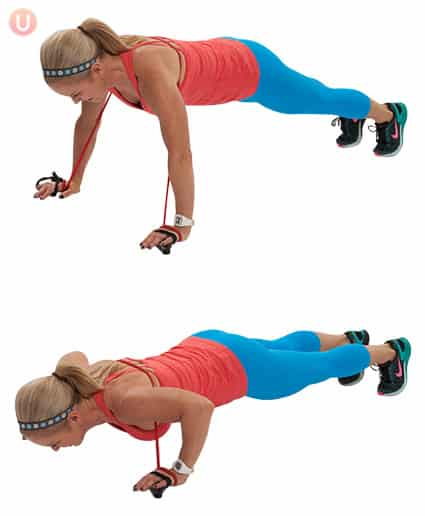 Mix it up your workout and improve your fitness level with these 15 fun push-up variations!