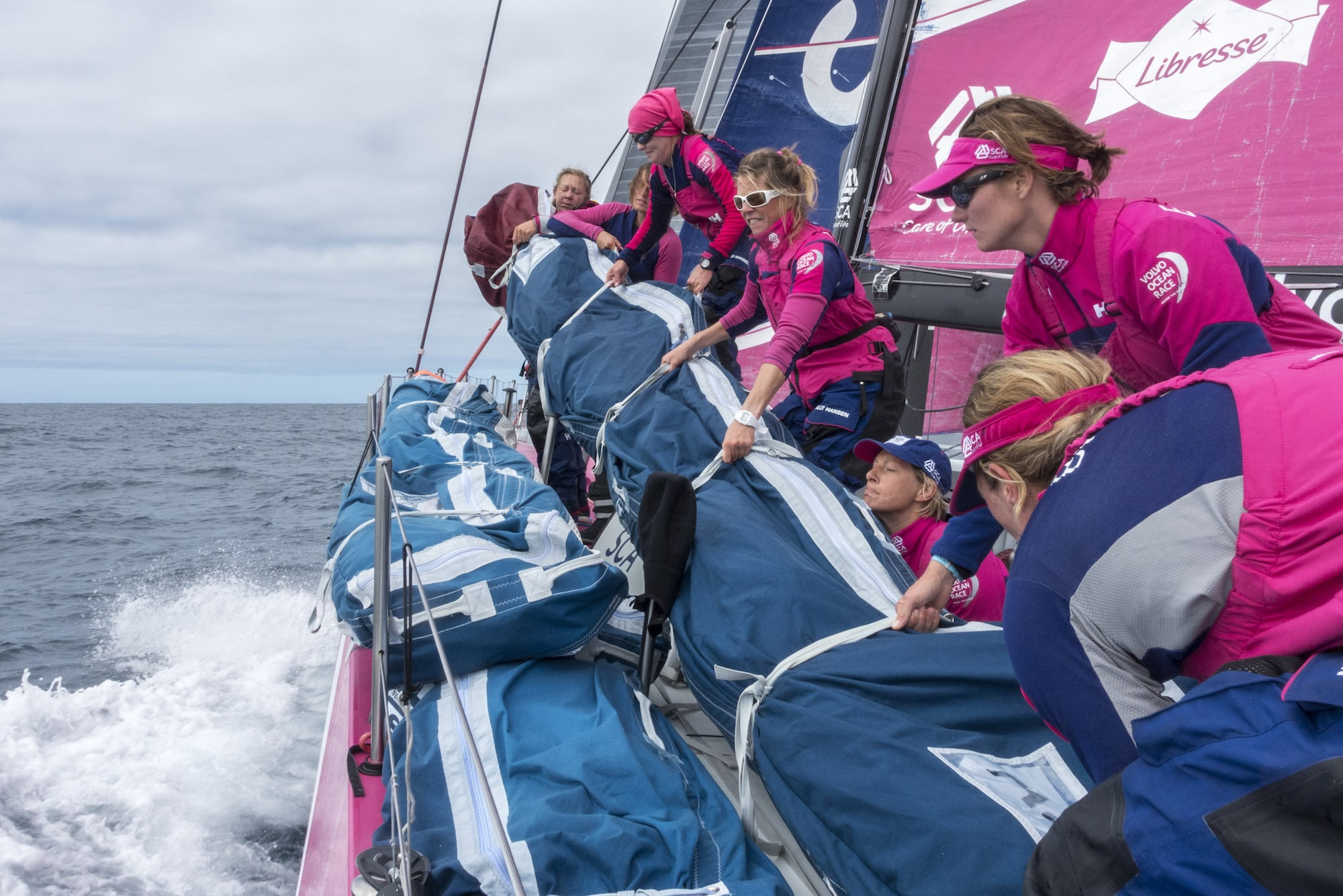 These 13 inspiring women from Team SCA are sailing across the world in the Ocean Volvo Race! Read more about their history breaking journey!