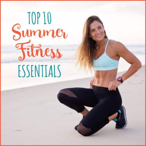 Try these 10 summer essentials to stay cool during your workouts.