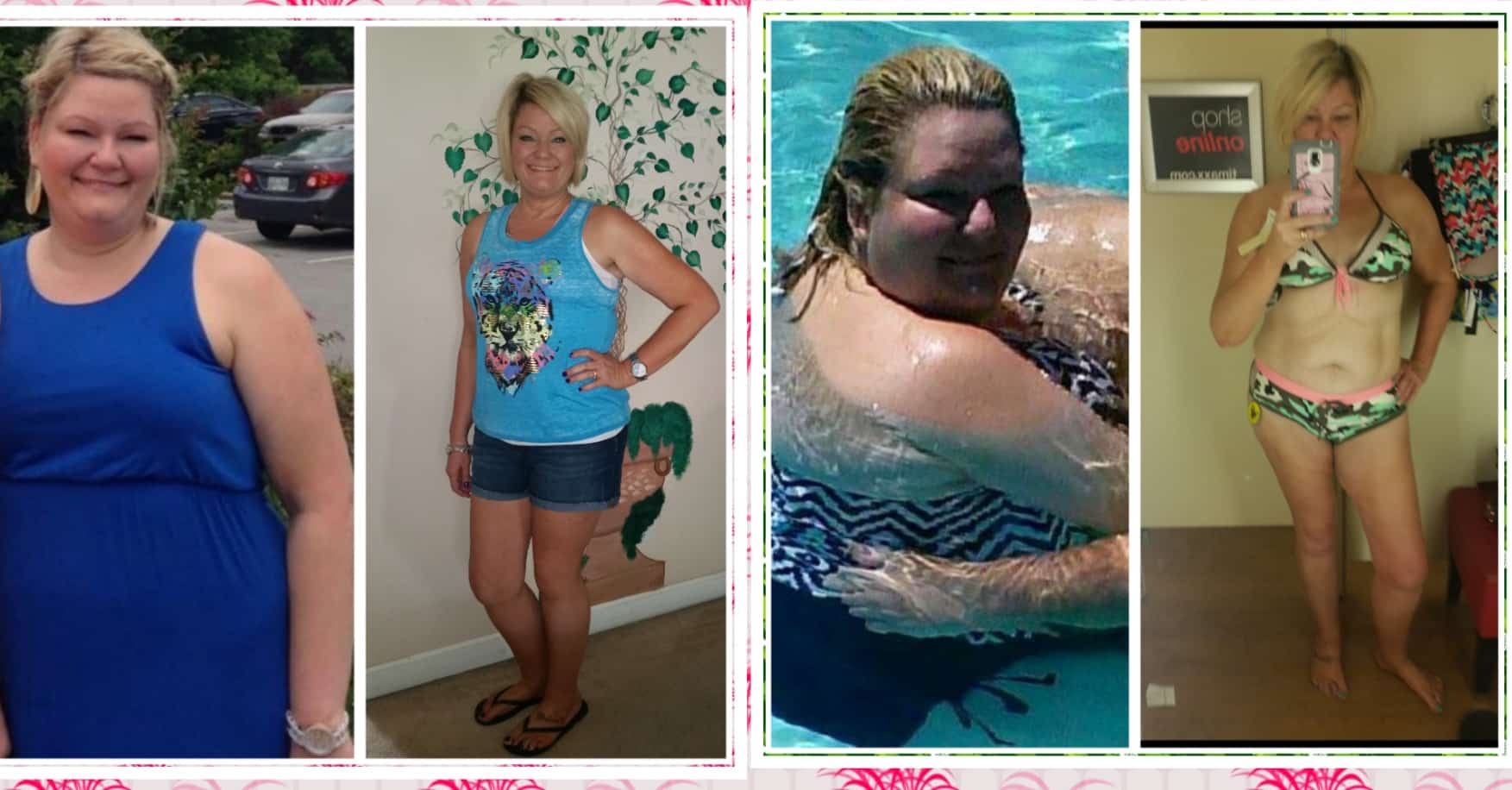 Cherie lost 90 pounds and so can you! #successstory #gethealthyu