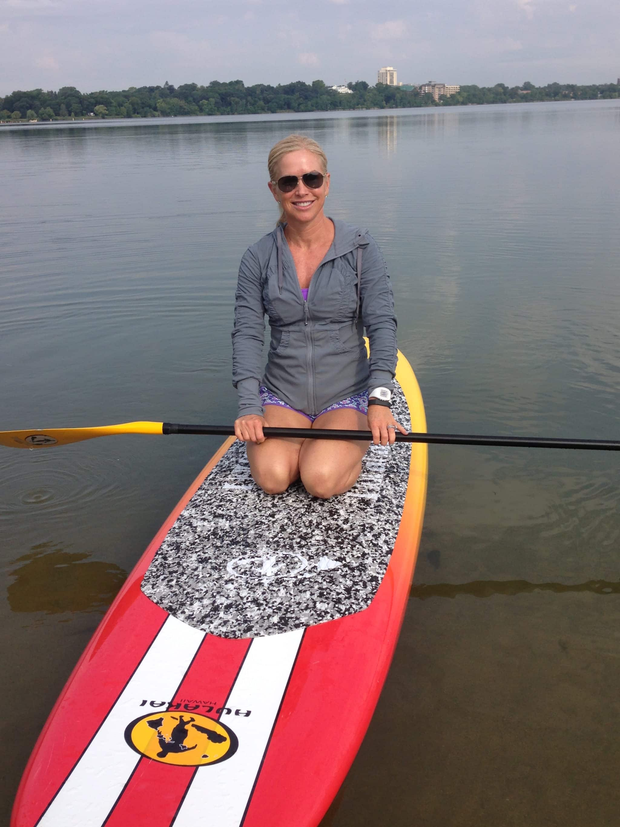 If you're a newbie to SUP (or don't even know what SUP is!), check out our Beginner's Guide To Stand-Up Paddleboarding!