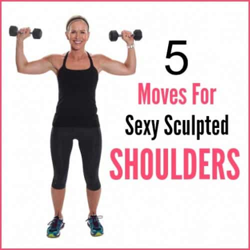 Sculpt sexy, toned shoulders with these five power moves.