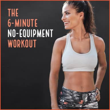 Use this workout to burn calories without equipment