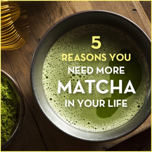 I know there's some match green tea lovers out there! And with good reason to: learn the 5 major health benefits matcha green tea has for your body and mind!
