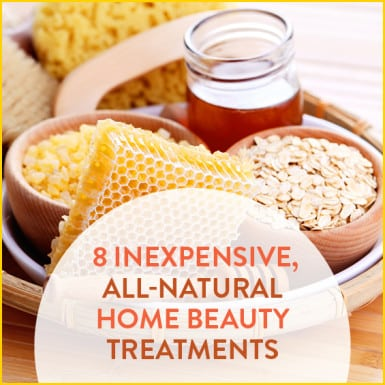 Take care of your skin with these natural beauty treatments using ingredients found right in your fridge or pantry without the harsh chemicals!