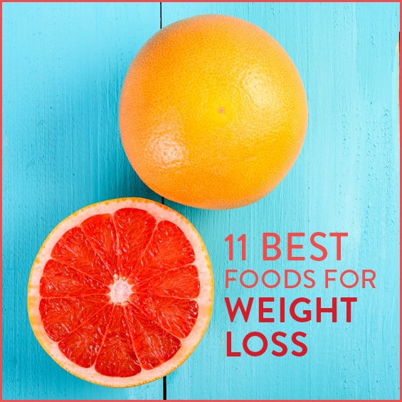 These are the best 11 foods for weight loss.