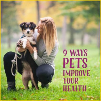 Your furry friends do more for you than just provide entertainment; they can actually keep you healthy!