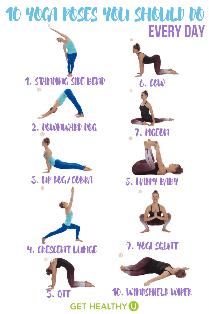 This Simple Yoga Workout Gives You 10 Poses Should Do Every Day It