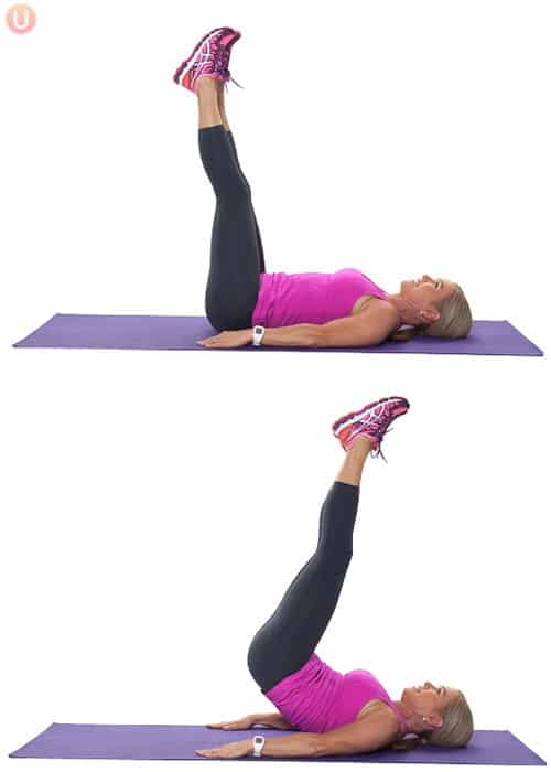 15 Minute Workout To Get Rid Of Lower Belly Pooch Get