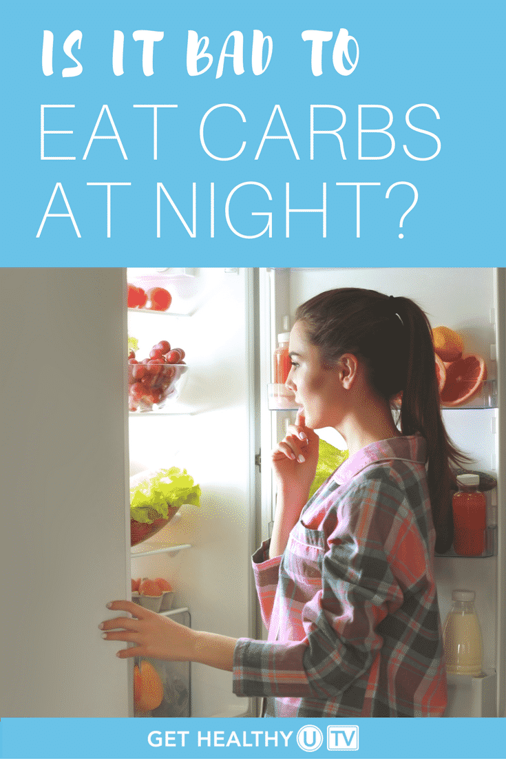 Here we answer all of your questions about eating carbs and eating at night!
