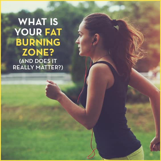 Learn whether or not you're working out in your fat burning zone.