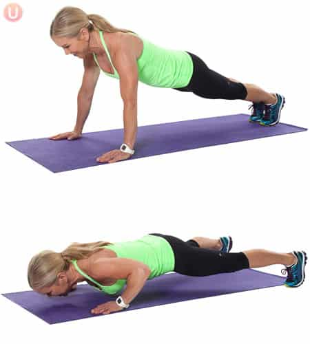 Try this bodyweight move to burn fat.
