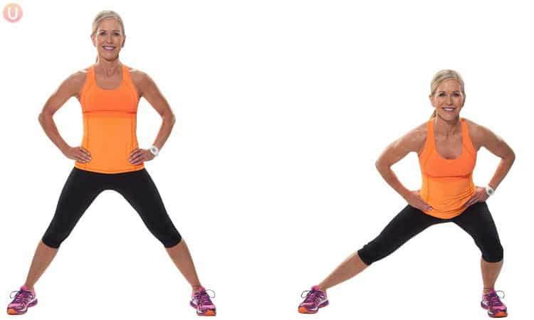 This is a leg toning exercise called a side lunge