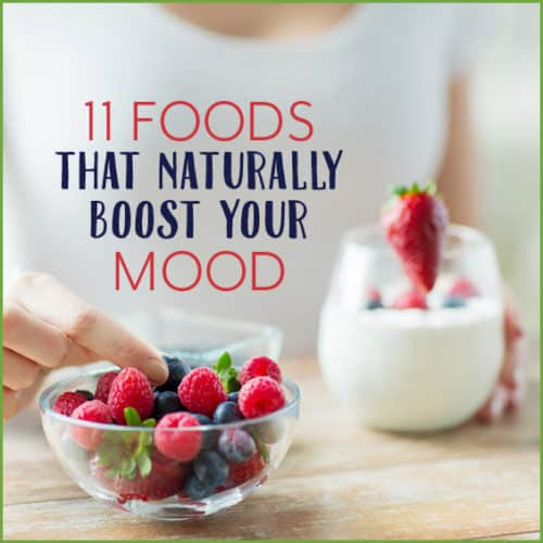 Improve your mood naturally with these 11 foods.