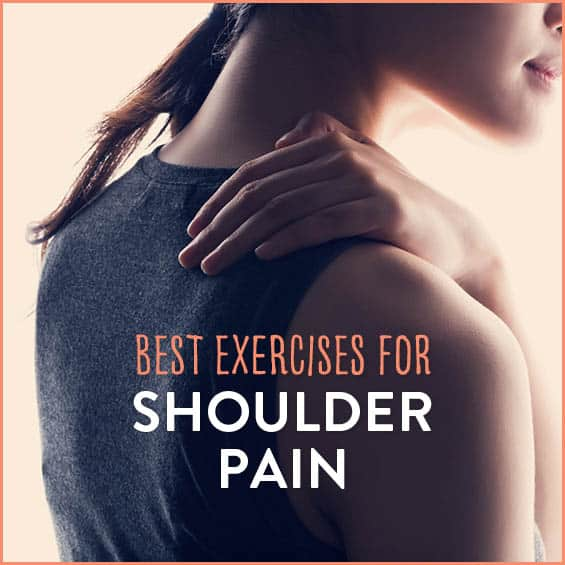 Struggling with shoulder pain due to overuse or injury? Try these exercises to strengthen and relieve your shoulder pain.