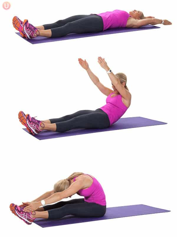 full body roll-up exercise