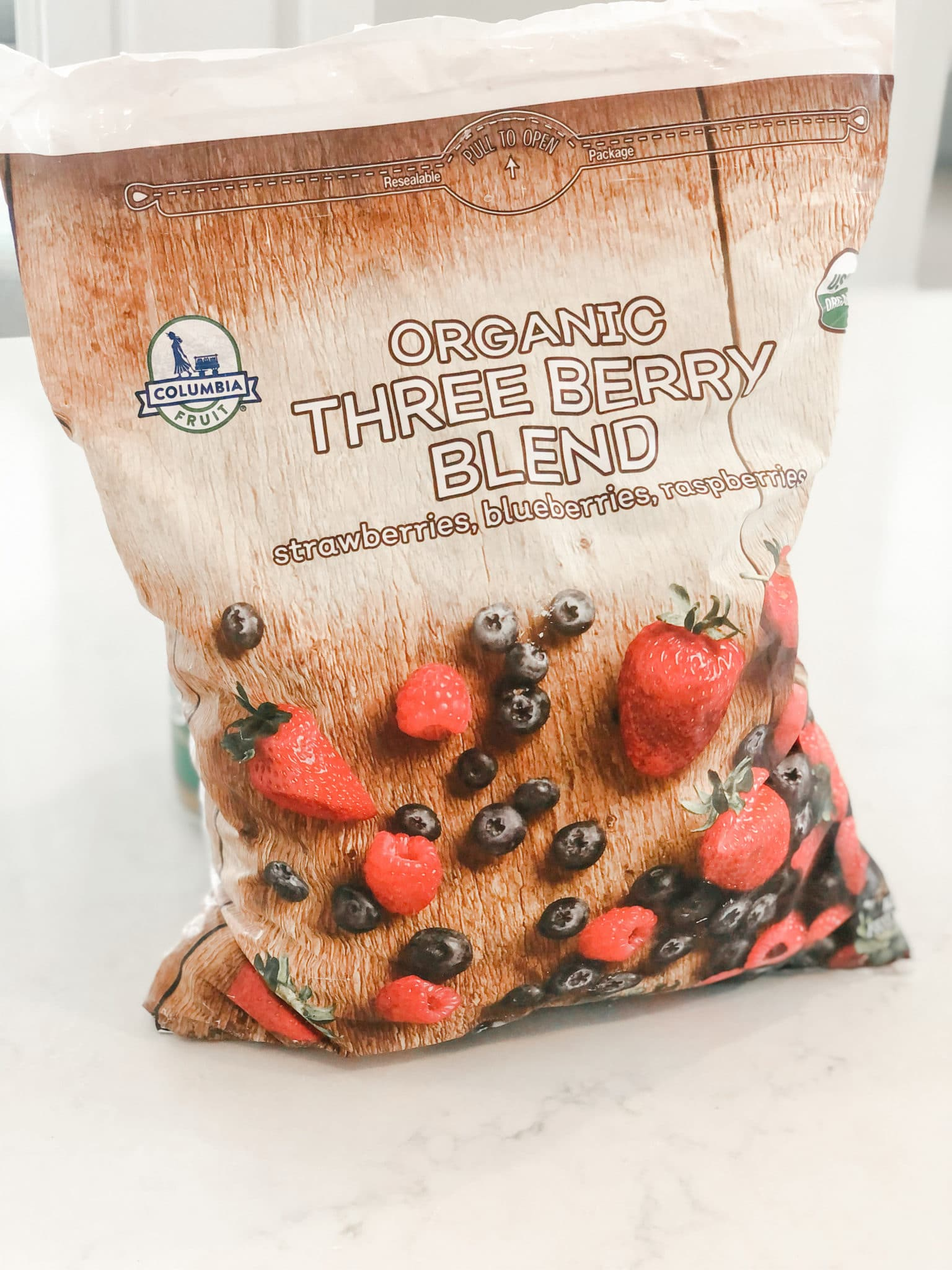 Photo of Organic Three Berry Blend from Costco